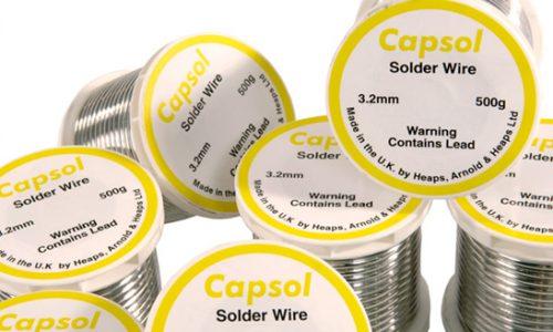 Lead plumbing solder