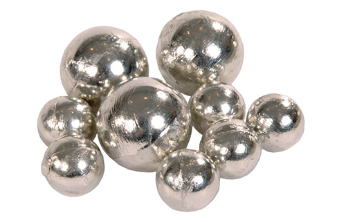 Pure tin sphere anodes