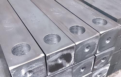 Pallet of steel sash weights