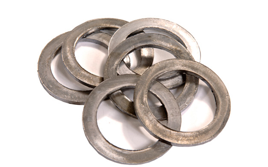 Lead washers and stampings