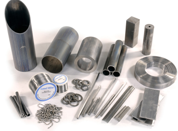 lead tape, lead wire, lead extrusions, lead castings