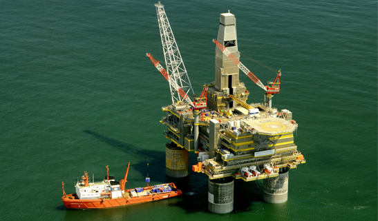 Silver lead cathodes/anodes used for oil-rig steel work protection