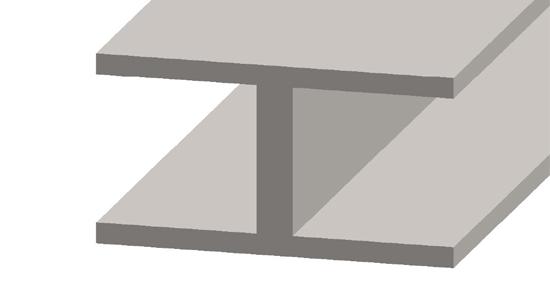 Flat lead came profile