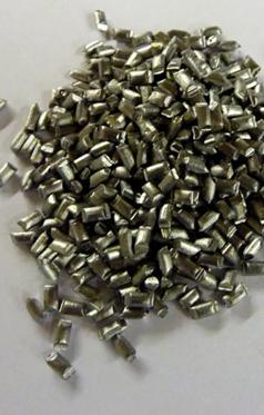Lead pellets used as lead counterweight or lead shot alternative