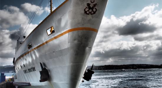 Lead ballast for counterbalancing ship keel