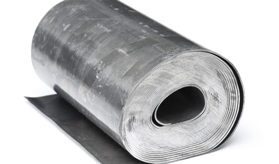Rolled, milled or cast lead sheet