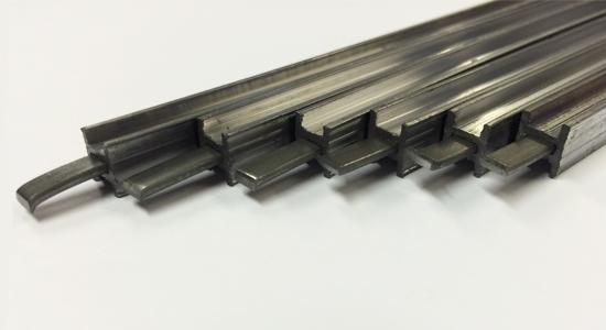 Steel reinforced lead came